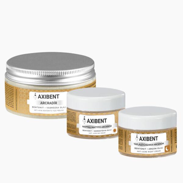 Axibent Bőrmegújító arcápoló csomag problémás bőrre